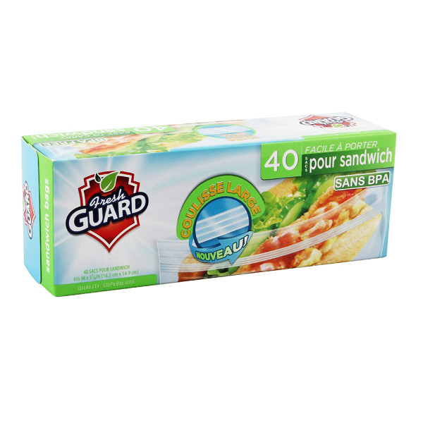 Fresh Guard Sandwich Bag 40CT