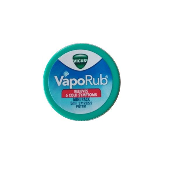 Vicks VapoRub 5ml expired