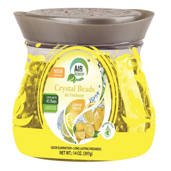 Air Fusion Crystal Beads 14oz Lemon Fresh