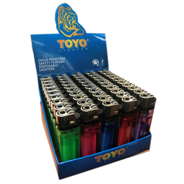 Disposable Lighter Toyo Assorted Color