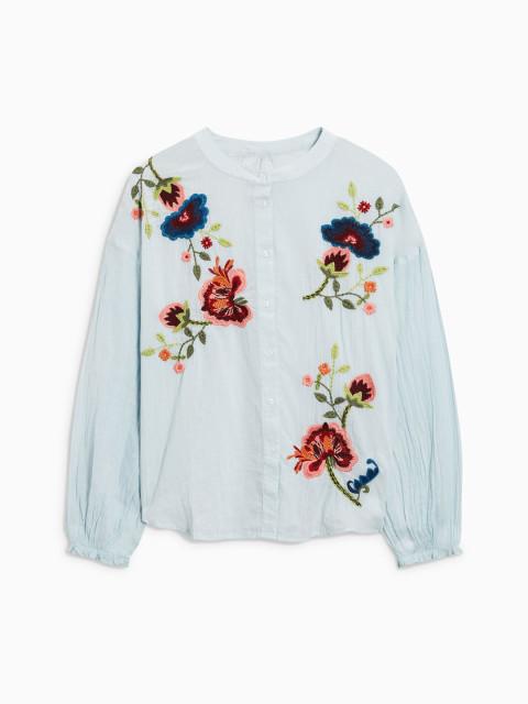 Women White Regular Fit Printed Casual Shirt