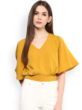 Harpa Mustard Yellow Top