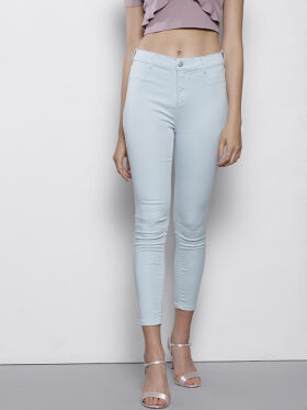 DOROTHY PERKINS Blue Frankie Fit Cropped Jeggings