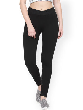 Xpose Black Skinny Fit Treggings