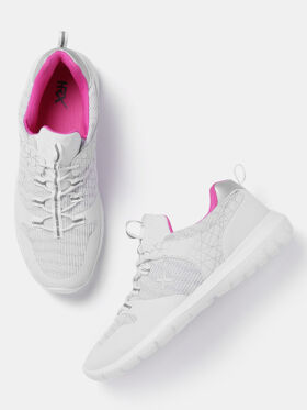 HRX by Hrithik Roshan Women White Sports Shoes