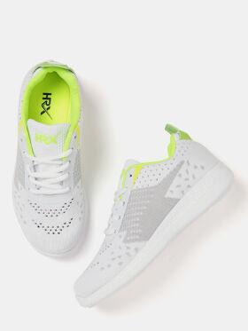 HRX by Hrithik Roshan Women Off-White Running Shoes