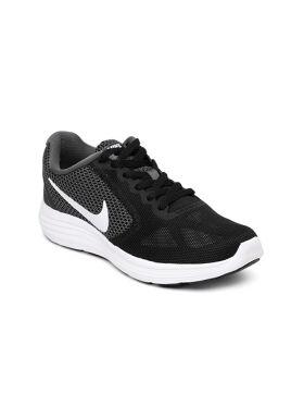 Nike Women Black Revolution 3 Running Shoes