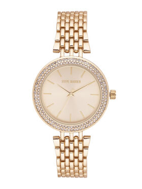 Steve Madden Women Gold-Toned Analogue Watch SMW098G