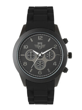 Roadster Men Black & Gunmetal-Toned Analogue Watch MFB-PN-SNT-C12