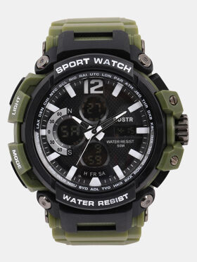 Roadster Men Green Analogue and Digital Watch MFB-PN-OS-AD1713