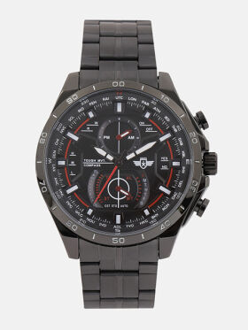 Roadster Men Black Analogue Watch