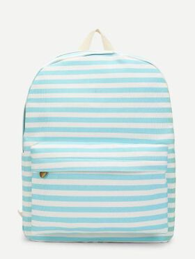 Striped Backpacks Bag