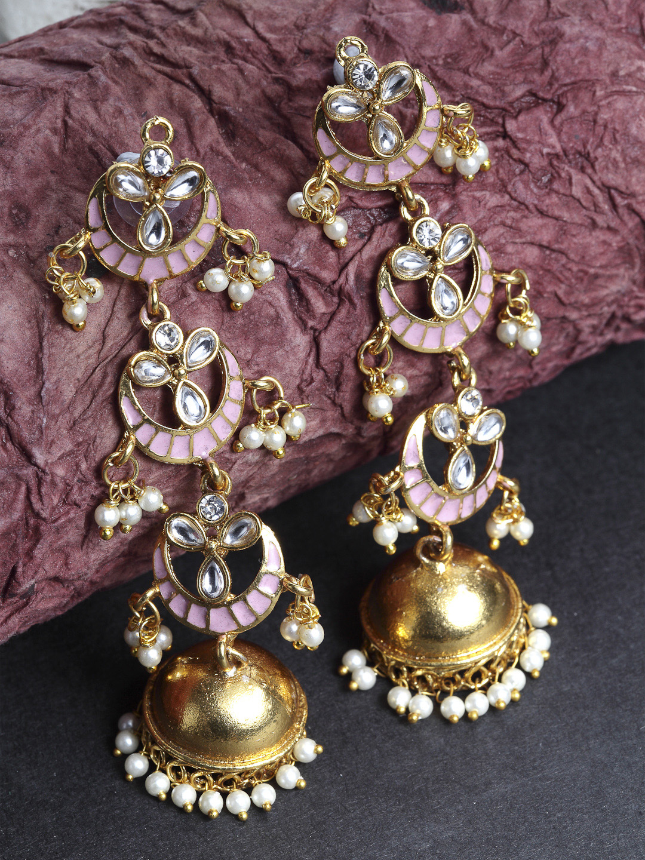 Priyaasi Gold - Jhumkas