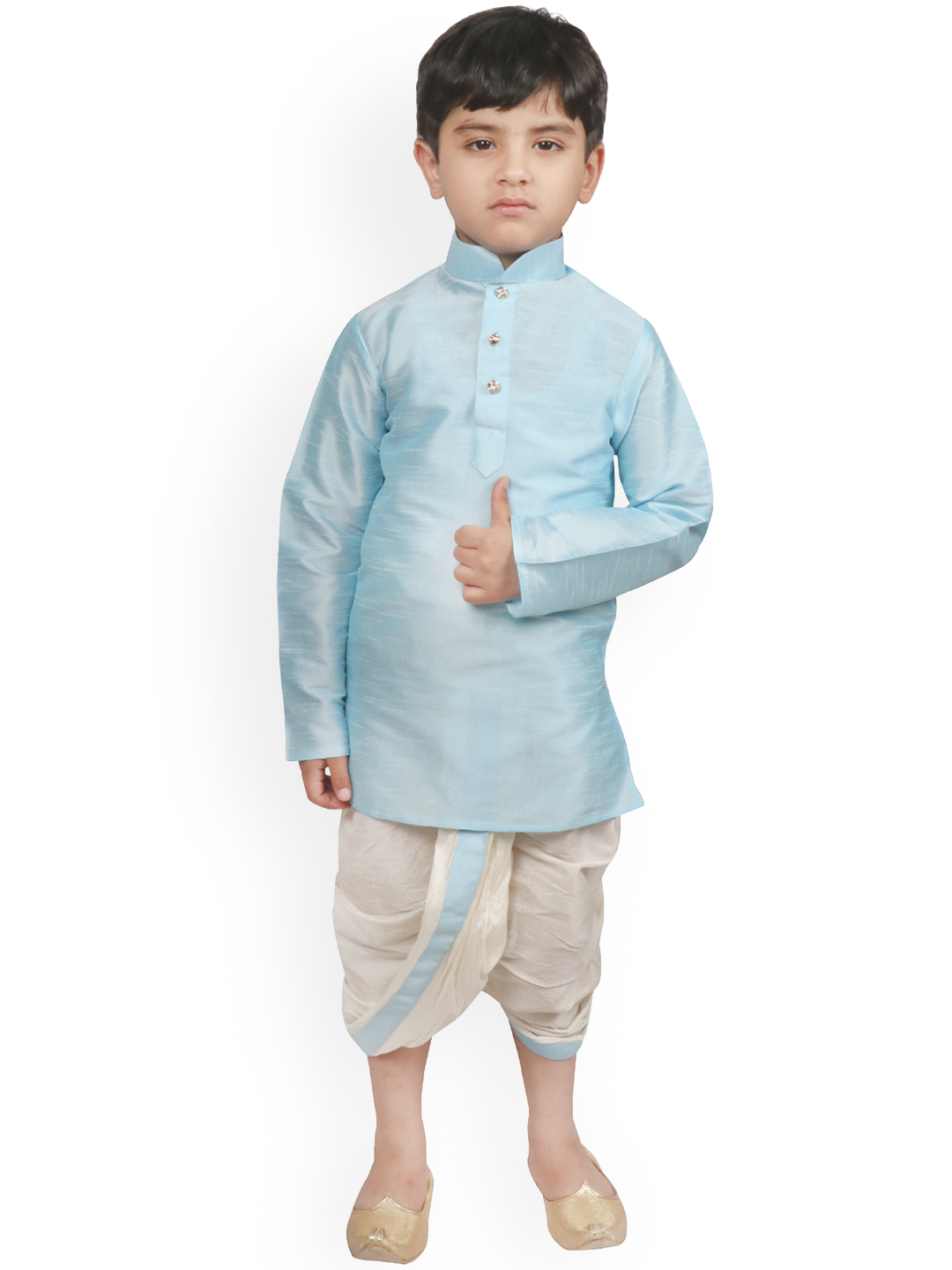 EMBROIDERED DHOTI SUIT