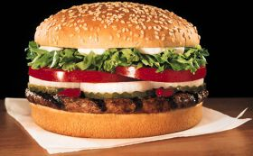 The Burger King Whopper