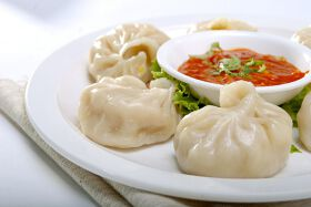 Mix Veg Momos with Cottage Cheese