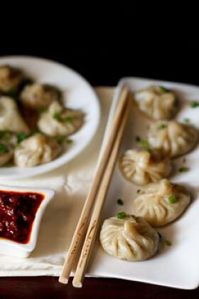 Potatoes Momos with Cheese