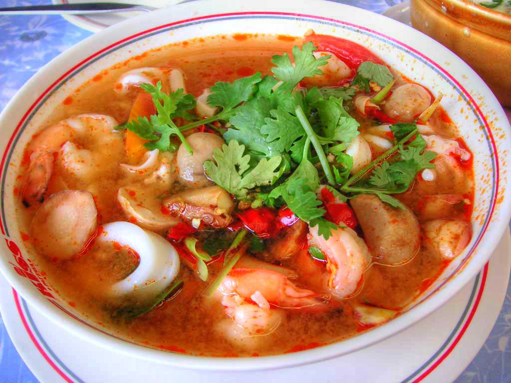 Tom Yum Taey Soup