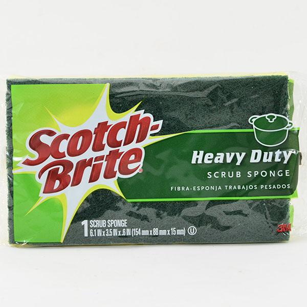 SCOTCH-BRITE SCRUB SPONGE 1'S *HEAVY DUTY-LARGE* #455