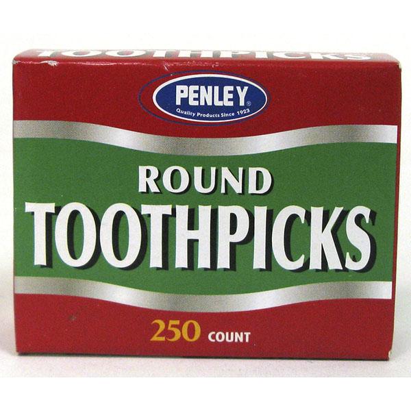 PENLEY TOOTHPICK ROUND 250'S