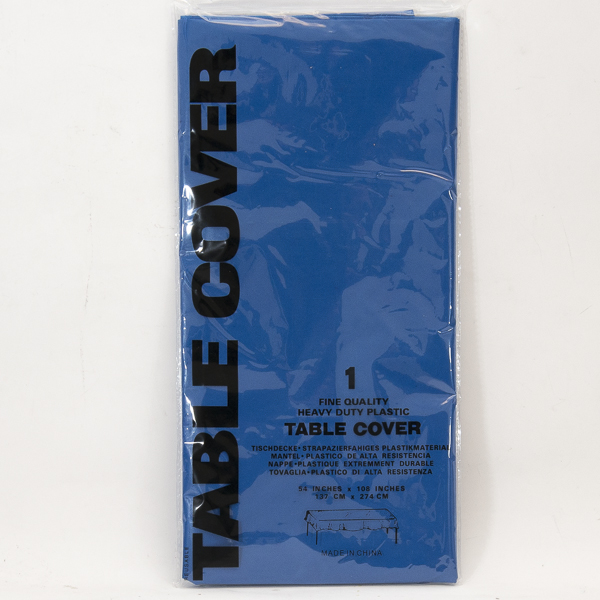 PLASTIC TABLE COVER 54