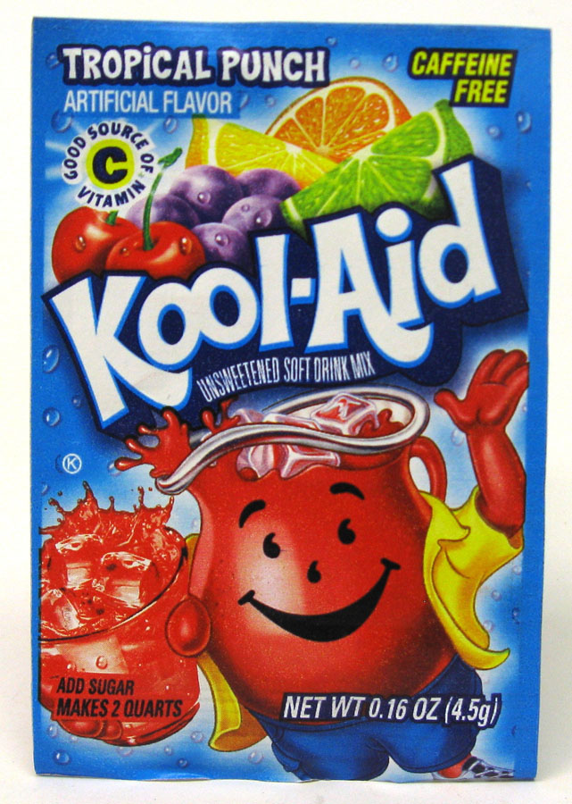 KOOL-AID DRINK MIX 48CT *TROPICAL PUNCH*
