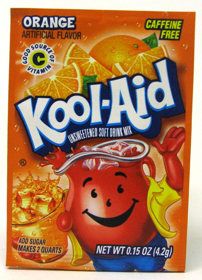 KOOL-AID DRINK MIX 48CT *ORANGE*