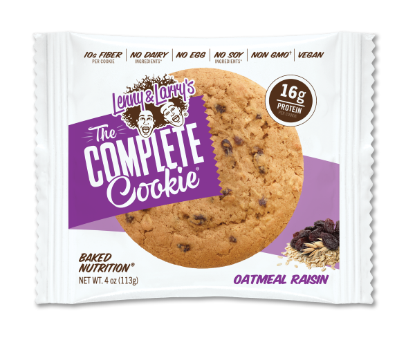 LENNY & LARRY'S 4OZ 12CT *OATMEAL RAISIN*