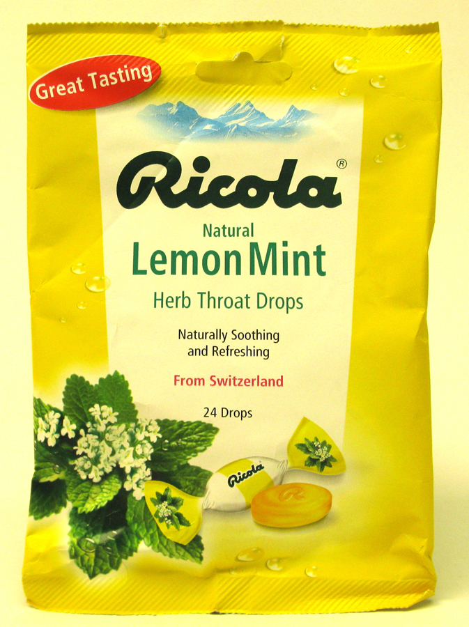 RICOLA BAGS 24'S *LEMON MINT*
