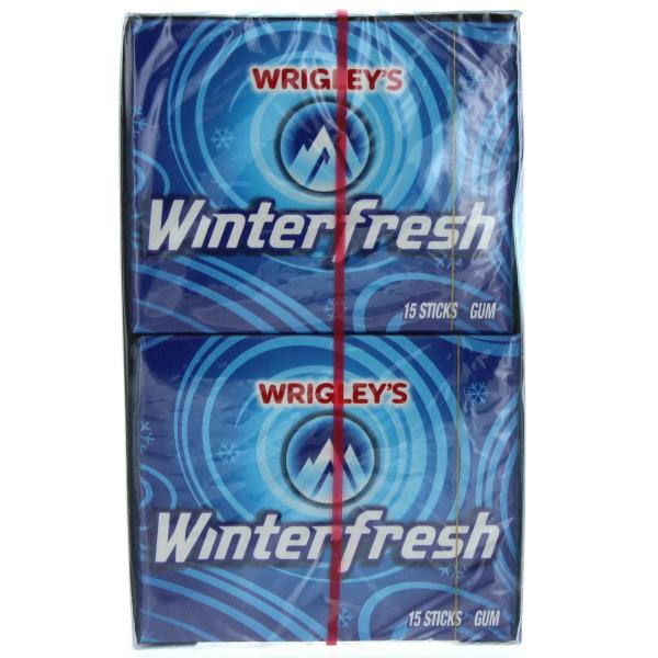 WRIGLEY'S 15'S 10CT *WINTERFRESH*