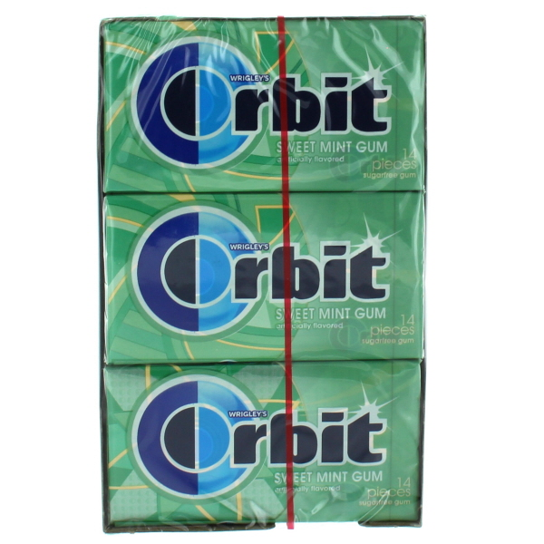 ORBIT 14'S 12CT *SWEET MINT*