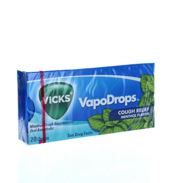 VICKS VAPODROPS 20'S 20CT *MENTHOL*