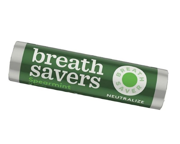 BREATH SAVERS MINTS .75OZ 24CT *SPEARMINT*