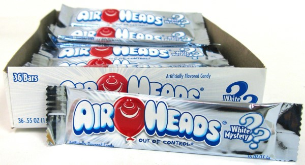 AIR HEADS .55OZ 36CT *WHITE MYSTERY*