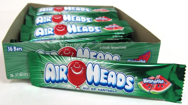 AIR HEADS .55OZ 36CT *WATERMELON*