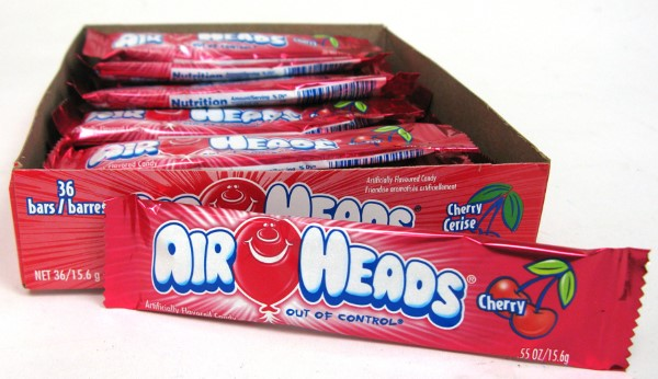 AIR HEADS .55OZ 36CT *CHERRY*