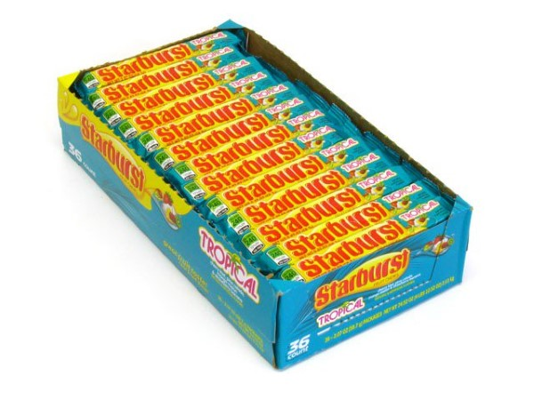 STARBURST 2.07OZ 36CT *TROPICAL*