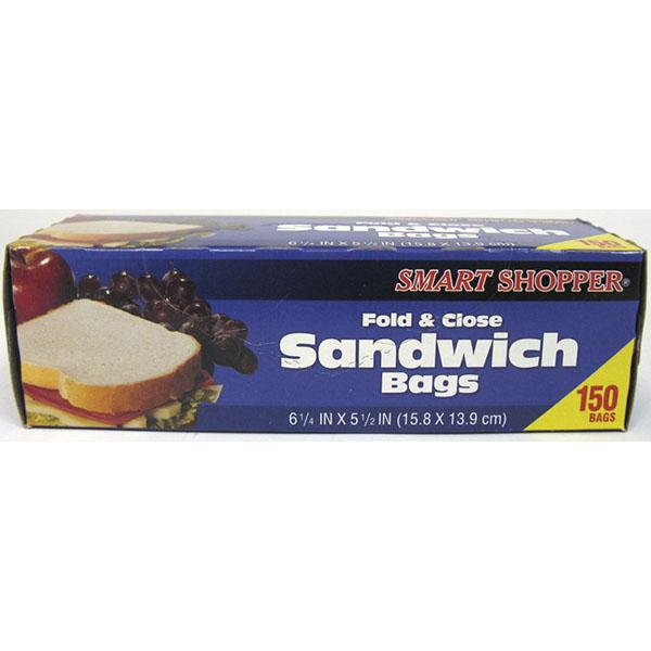 GOODSENSE FOLD LOCK TOP SANDWICH BAGS 100'S