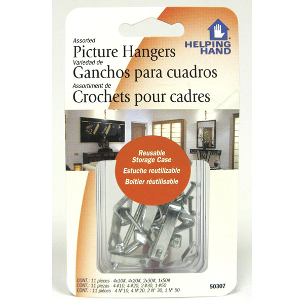 HELPING HAND PICTURE HANGERS ASST. #50307