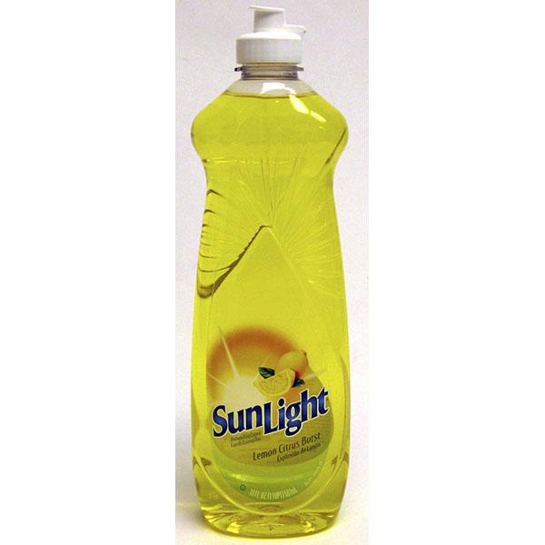 SUNLIGHT DISHWASHING LIQUID 19FL.OZ *LEMON CITRUS BURST*