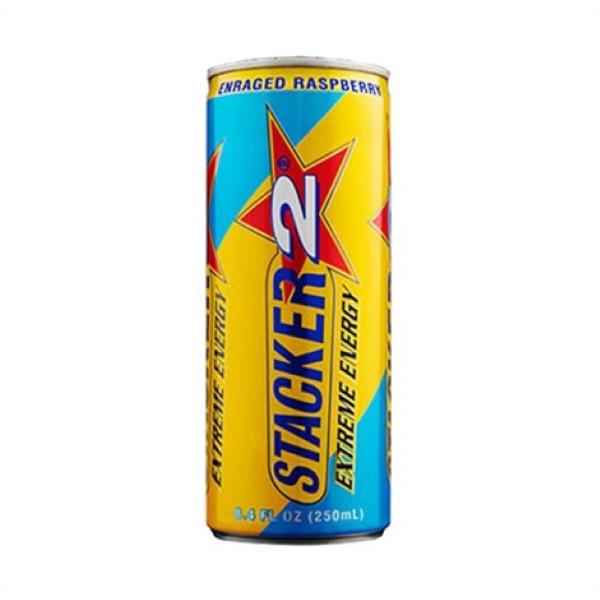 STACKER 2 EXTREME ENERGY 12OZ *ENRAGED RASPBERRY*