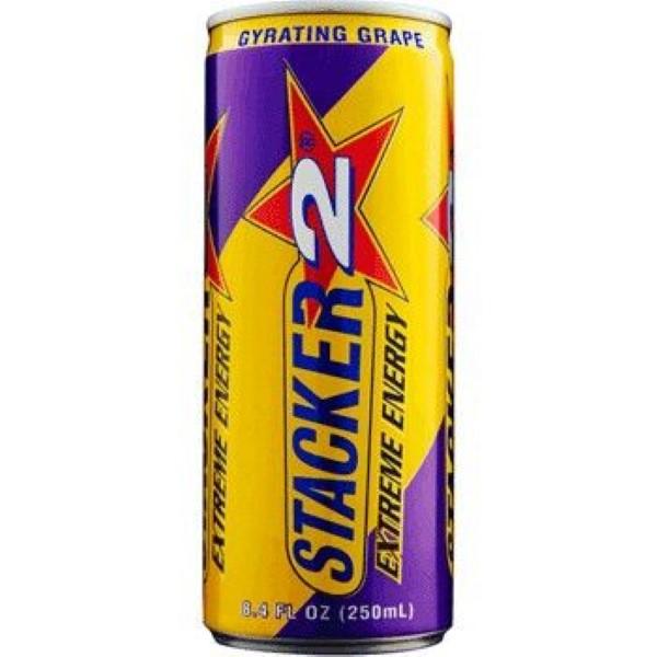 STACKER 2 EXTREME ENERGY 12OZ *GYRATING GRAPE*