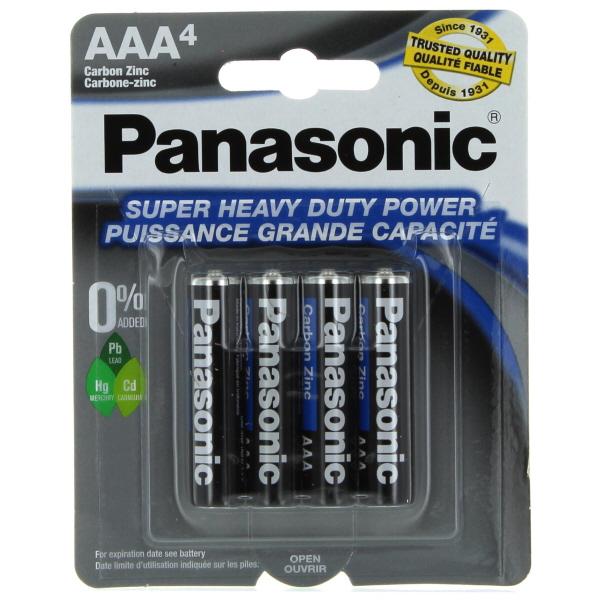 PANASONIC BATTERY AAA 4'S