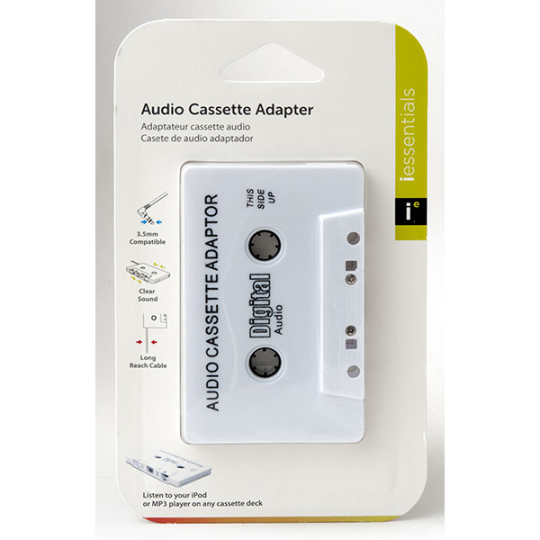 AUDIO CASSETTE ADAPTOR #IP-CAD1