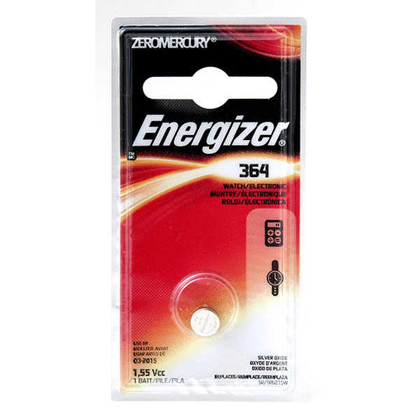ENERGIZER WATCH BATTERY *364/SR621SW* #364BPZ