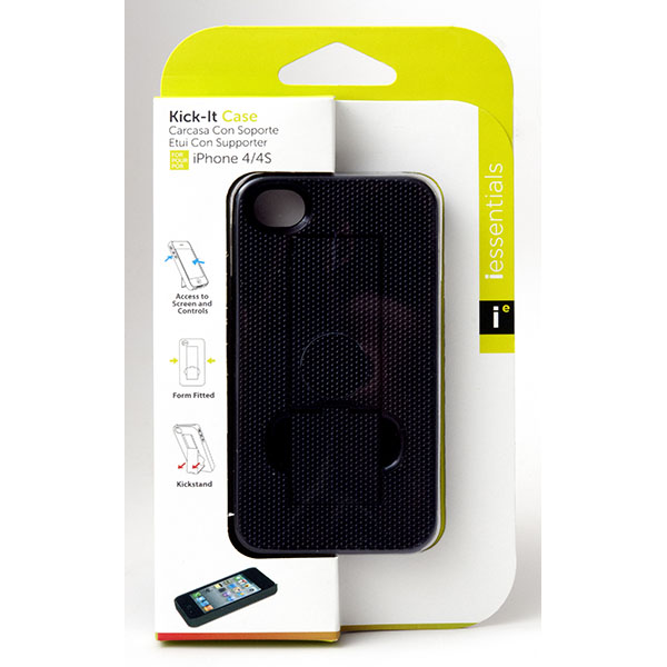 PHONE CASE I-PHONE KICK-IT 4/4S #IPH4S-KC-BK