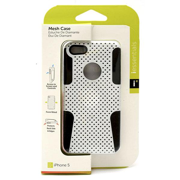 PHONE CASE I-PHONE 5 MESH CASE *WHITE* #IPH5-MC-WT