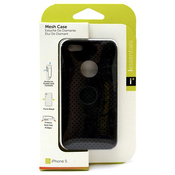 PHONE CASE I-PHONE 5 MESH CASE *BLACK* #IPH5-MC-BK