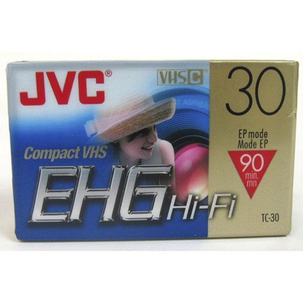 JVC COMPACT VHS CASSETTE SP30/EP90MIN TC-30EHGDU