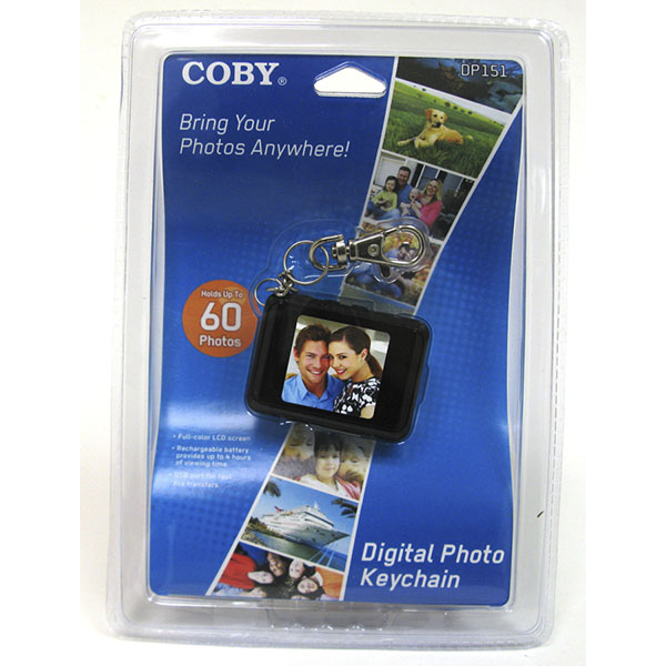 COBY DIGITAL PHOTO KEYCHAIN #DP151